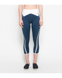 Athena Capri Pants Blue