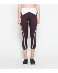 Averie Capri Pants Maroon
