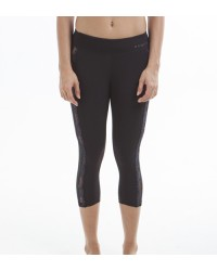 Jeane Black Capri Pants